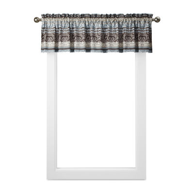 Home Expressions Oakville Rod-Pocket Tailored Valance