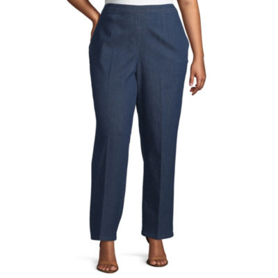Smooth Sailing Alfred Dunner Proportioned Medium Pant - Plus