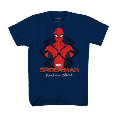Mens Spiderman Graphic T-Shirt
