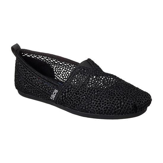 Skechers Bobs Womens Daisy And Dot Slip-On Shoe Closed Toe