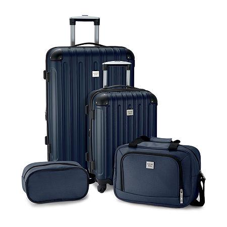 Geoffrey Beene Colorado 4-pc. Luggage Set, One Size , Blue