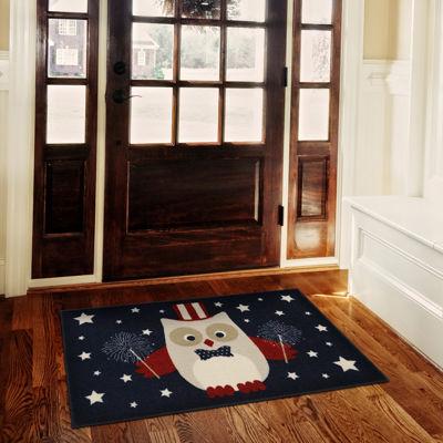 JCPenney Home™ Americana Owl Rectangular Rug