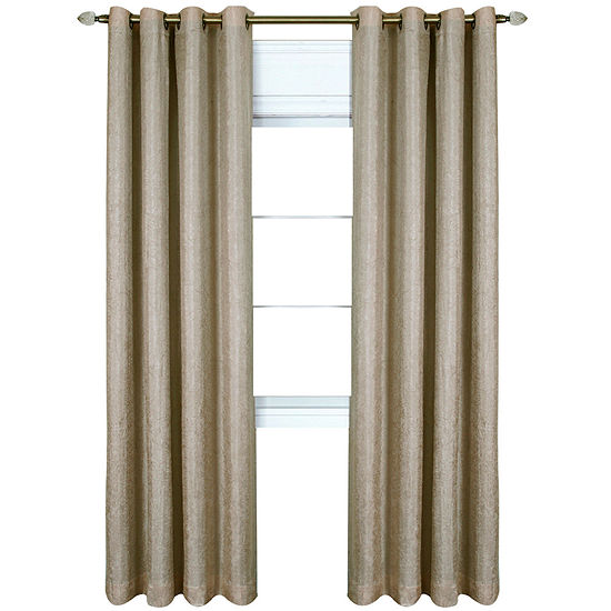 Taylor Blackout Grommet-Top Curtain Panel
