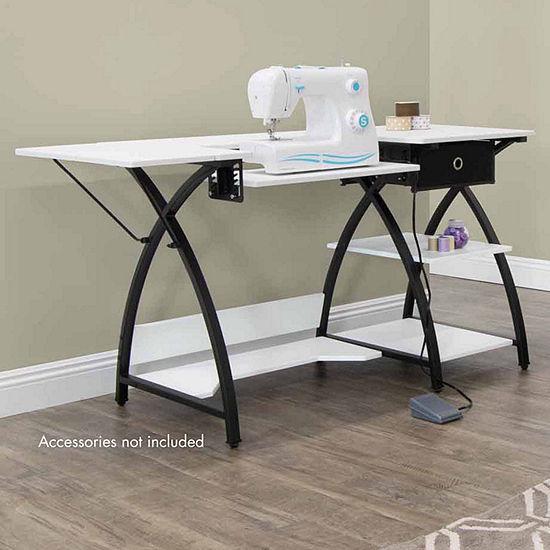 Studio Designs Comet Sewing Desk with Storage