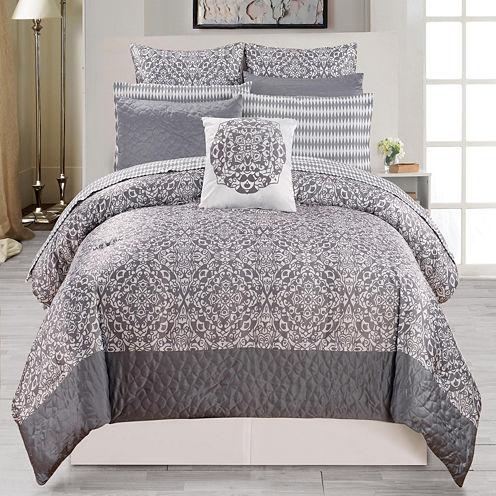 DUCK RIVER 10-pc. Ashlea Comforter Set