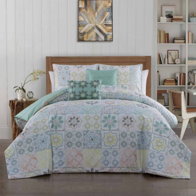 Avondale Manor Cruz 5-pc. Midweight Reversible Comforter Set
