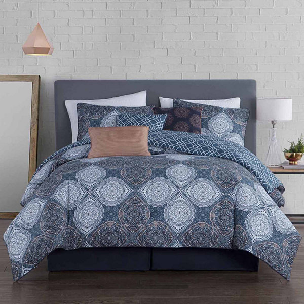Avondale Manor Demi 5-pc. Midweight Reversible Comforter Set