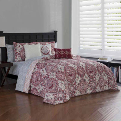 Avondale Manor Nina 10-pc. Midweight Reversible Comforter Set