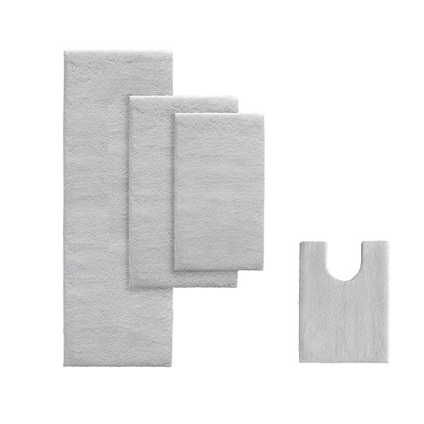 Madison Park Marshmallow Memory Bath Rug Collection