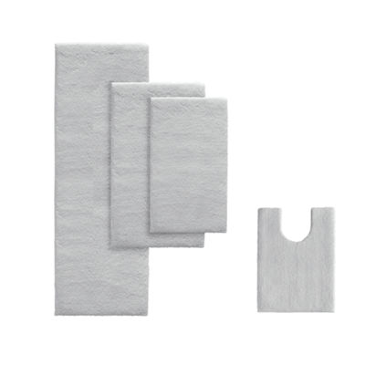 Madison Park Signature Marshmallow Memory Bath Rug Collection