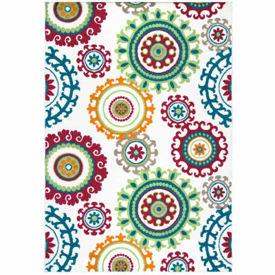 Rizzy Home Glendale Medallion Rectangular Rugs