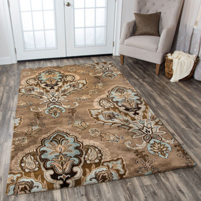 Rizzy Home Volare Ornamental Rectangular Rugs