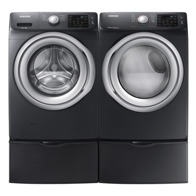 Samsung Front Load 2pc. Gas Washer and Dryer Set