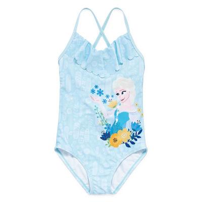 Disney Frozen One Piece Swimsuit Girls