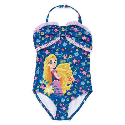 Disney Rapunzel One Piece Swimsuit Girls