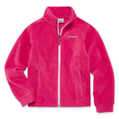 Columbia Fleece Lightweight Jacket-Toddler Girls