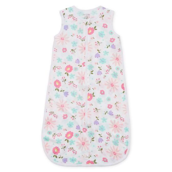 Okie Dokie Floral Full Zip Sleeveless Sleep Sack