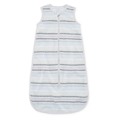 Okie Dokie Aztec Full Zip Sleeveless Sleep Sack - Baby
