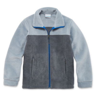 Zip-up Fleece Jacket- Boys Big Kid