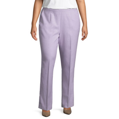 Alfred Dunner Roman Holiday Classic Pant- Plus
