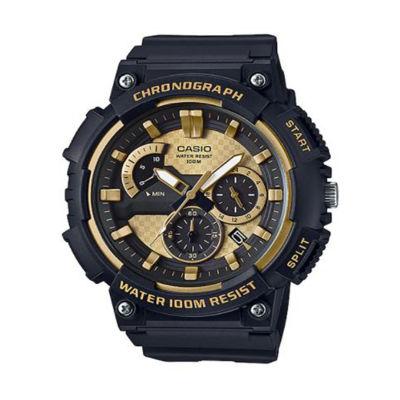 Casio Mens Black Strap Watch-Mcw200h-9av