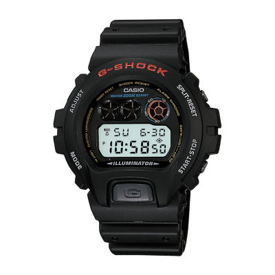 Casio Mens Black Strap Watch-Dw6900-1fl