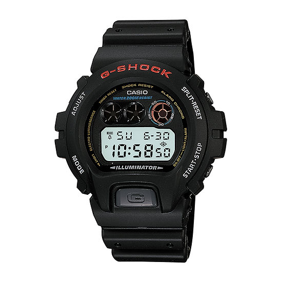 Casio G-Shock Mens Black Strap Watch-Dw6900-1fl
