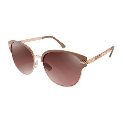 Rocawear Full Frame Rectangular UV Protection Sunglasses-Womens