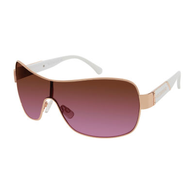 Rocawear Full Frame Shield UV Protection Sunglasses-Womens