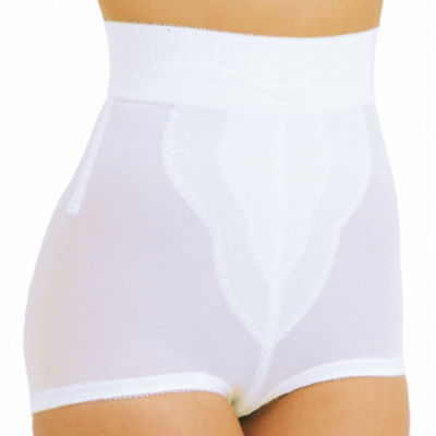 Rago High Waist Tulip Panel Moderate Control Control Briefs 6296