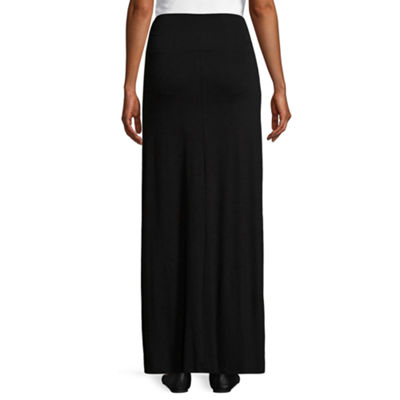 Planet Motherhood Maxi Skirt- Maternity