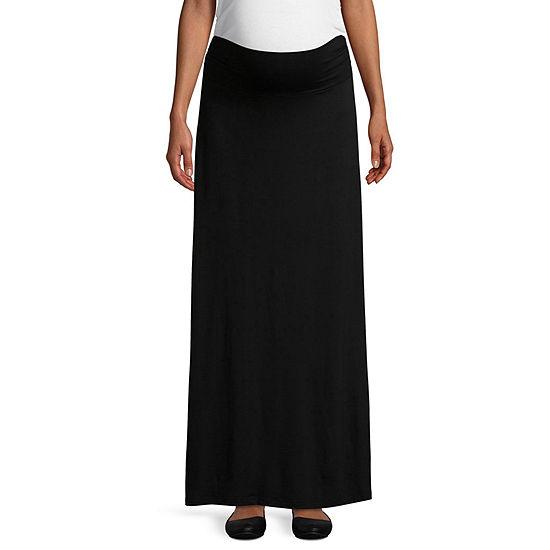 Planet Motherhood Maxi Skirt- Maternity