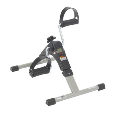 Folding Exercise Peddler with Electronic Display