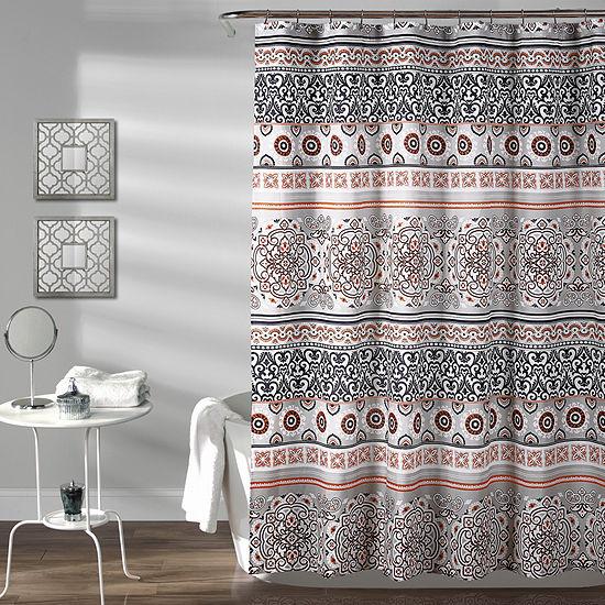 Lush Décor Nesco Stripe Shower Curtain
