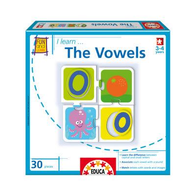 Educa I Learn... The Vowels: 30 Pcs