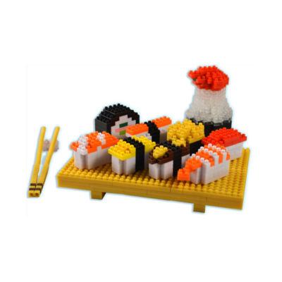 BePuzzled 3D Pixel Puzzle Deluxe - Sushi: 559 Pcs
