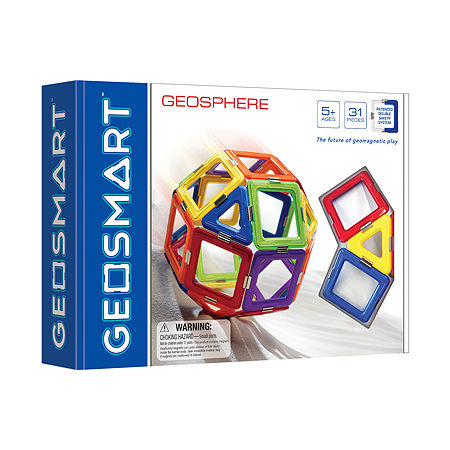 Smart Toys And Games Geosmart Geosphere: 31 Pcs, One Size , Multiple Colors