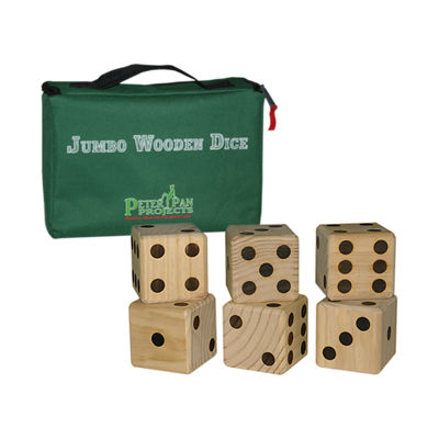 Maranda Enterprises  LLC Jumbo Wooden Dice