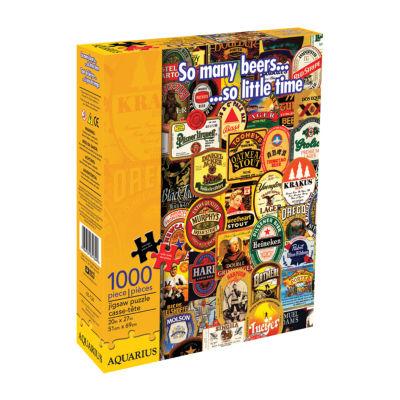 Aquarius So Many Beers Jigsaw Puzzle: 1000 Pcs