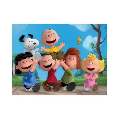 Ceaco Together Time Varying Piece Size Puzzle - Peanuts: 400 Pcs
