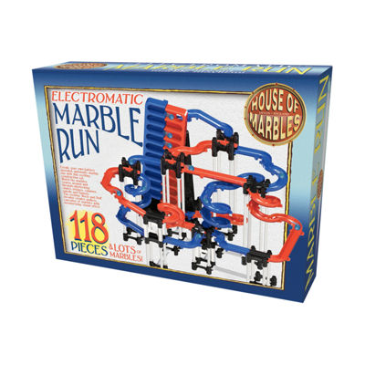 House of Marbles Electromatic Marble Run: 118 Pcs