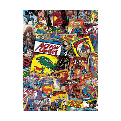 Aquarius DC Comics - Superman Collage Jigsaw Puzzle: 1000 Pcs