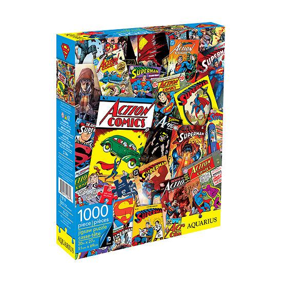 Aquarius DC Comics - Superman Collage Jigsaw Puzzle: 1000 Pcs