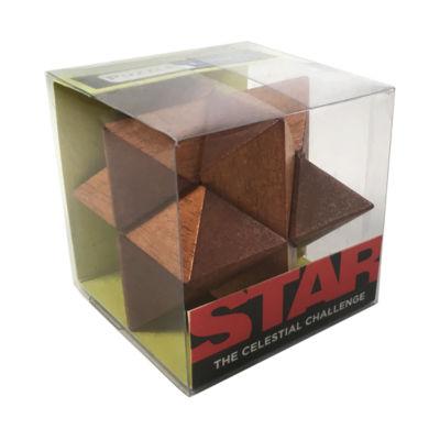 Front Porch Classics Puzzle Logic Wooden Puzzle -Star