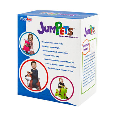 MegaFun USA JumPets Bouncer - Buster the Dog (Brown)