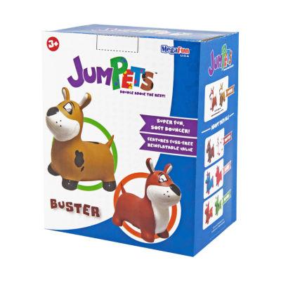 MegaFun USA JumPets Bouncer - Buster the Dog (Brown)