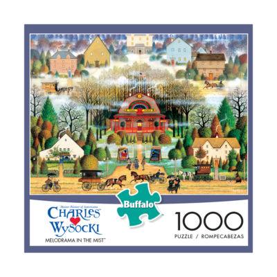 Buffalo Games Charles Wysocki - Melodrama in the Mist: 1000 Pcs