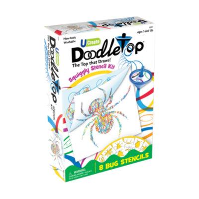 U-Create Doodletop Stencil Kit - Bugs