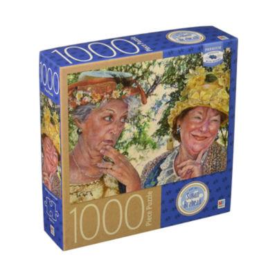 Milton Bradley Premium Blue Board Jigsaw Puzzle -Susan Brabeau - Best Friends: 1000 Pcs