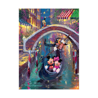 Ceaco Disney Fine Art - Moonlight in Venice: 1000Pcs